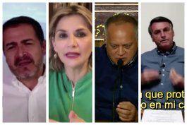 el covid-19  no tiene ideologia. igual afecta a lideres de izquierda o derecha en america latina
