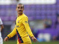 barcelona: griezmann se perderia resto de campana por lesion