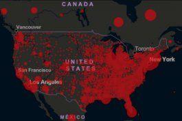 aumentan casos de coronavirus en 35 estados del pais