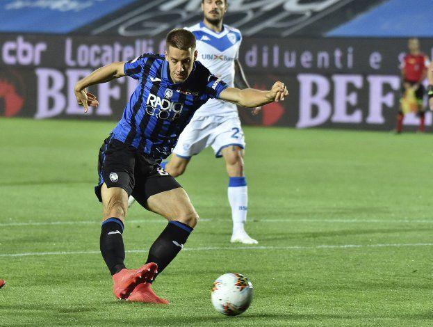 Con tripleta de Pašalić, Atalanta vapulea al Brescia