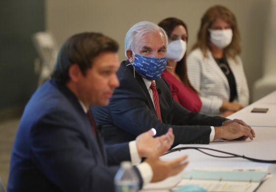 Nuevos casos de Coronavirus e Florida, la mayor cifra en un día desde agosto