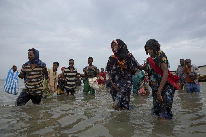 ONU: Migrantes, culpados por virus, quedan varados en Yemen