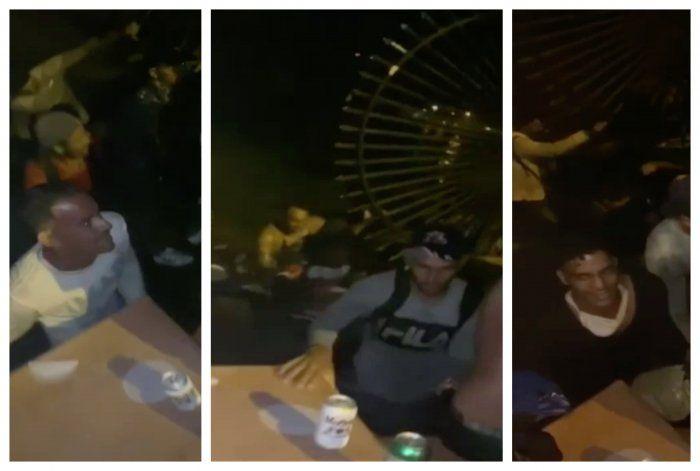 VIDEO: Llegan a los cayos 31 balseros cubanos en plena madrugada