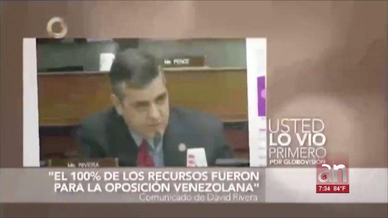 Difunden video manipulado de reportajes de América Noticias, en el caso David Rivera-PDVSA