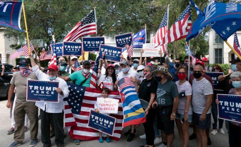 Convocatoria a protesta contra Rubio terminó en manifestación en apoyo al senador