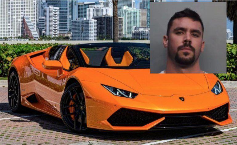 Hombre de Miami acusado de usar fondos de ayuda de COVID-19 para comprar Lamborghini
