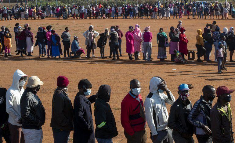 Sudáfrica se acerca al medio millón de casos de coronavirus