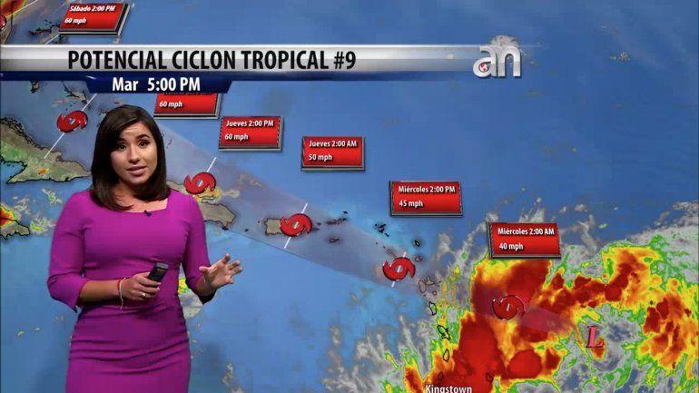 Florida podría ver viento y lluvia de lo que podría convertirse en la tormenta tropical Isaias este fin de semana