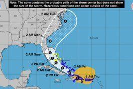 tormenta tropical isaias gana fuerza y continua su curso hacia aguas del sureste de florida