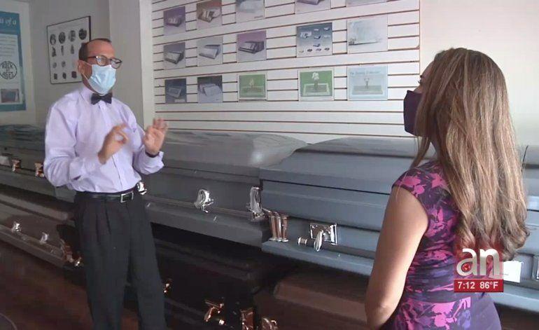 Funerarias de Miami están al límite en capacidad de cadáveres