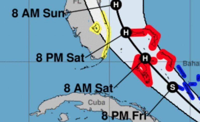 Huracán Isaías pasa por las Bahamas; Florida se prepara