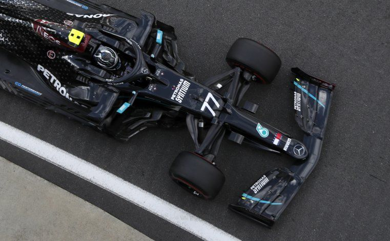 Bottas logra el mejor tiempo de la 3ra sesión de práctica