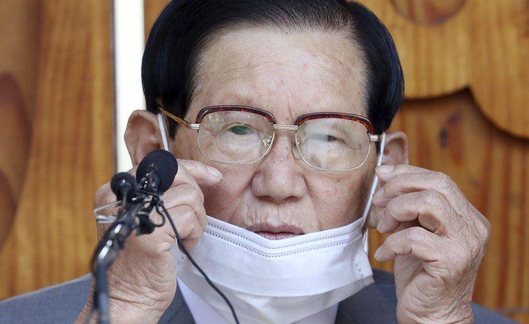 Arrestan a líder de secta religiosa en Corea del Sur