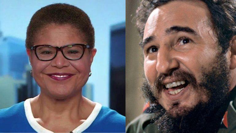 Continúan las críticas contra la posible compañera de fórmula de Joe Biden por su comentario sobre Fidel Castro