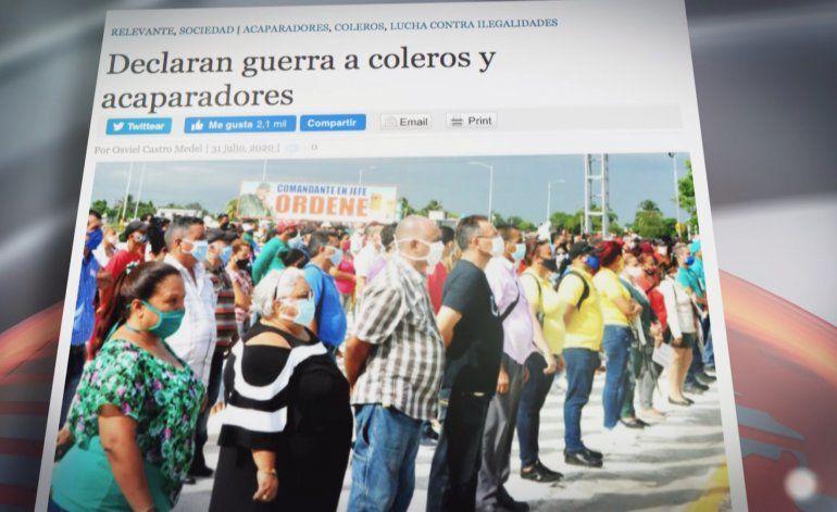 Crean brigadas de respuesta rápida para acabar con los Revendedores y Coleros  en varias provincias de Cuba