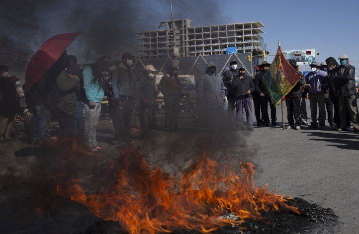 Protestas complican suministro de oxígeno en Bolivia