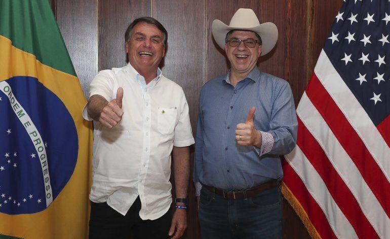 Embajador de EEUU quizá sea demasiado cercano a Bolsonaro