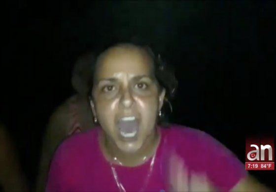 Cacerolazo en medio de un apagón de varias horas en placeras, Villa Clara