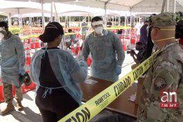cientos de residentes de miami tomaron la prueba de 15 minutos del coronavirus