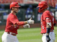 cardenales vuelven a san luis y retoman entrenamientos