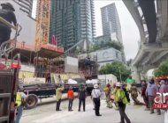 accidente en edificio en construccion en brickell deja a seis obreros gravemente heridos