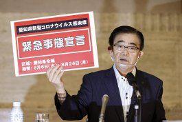 centro de japon, en estado de emergencia por el coronavirus