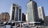 Libaneses retiran escombros en torno al puerto de Beirut