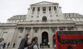 Banco de Inglaterra: caída sería menos grave de lo previsto