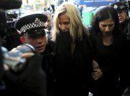 forense: presentadora de tv se suicido antes de su juicio