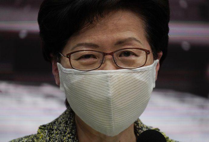 EEUU sanciona a lideresa del gobierno de Hong Kong
