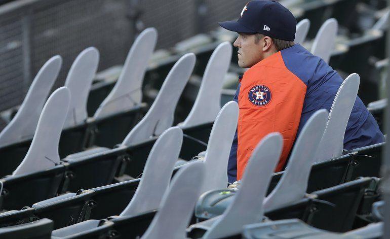 Atléticos frenan a Astros en 13ro, suman 7mo triunfo al hilo