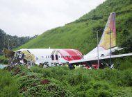 accidente de vuelo de repatriacion deja 18 muertos en india