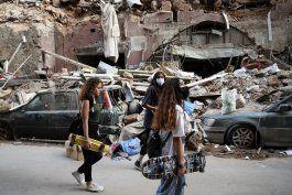 lideres visitan libano, que se alista para movilizaciones
