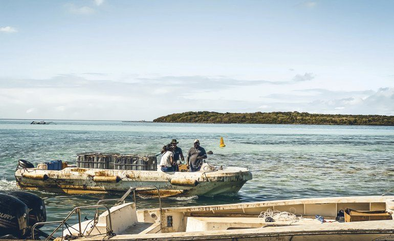 Mauricio: Buscan contener derrame de barco encallado
