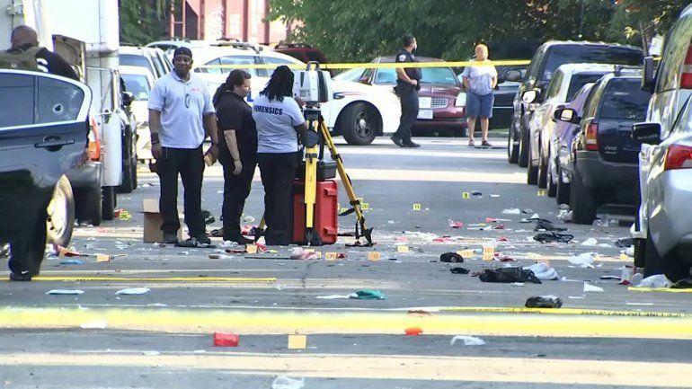 Un muerto y 20 heridos por tiroteo en Washington, D.C.