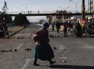 iglesia catolica y ue se acercan a manifestantes en bolivia