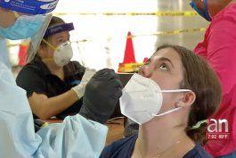 abren nuevo centro de pruebas de coronavirus en miami-dade, donde en menos de cinco minutos pueden hacerse el test
