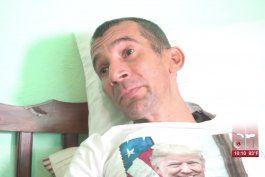 opositor cubano con cancer en la frontera pide una visa humanitaria