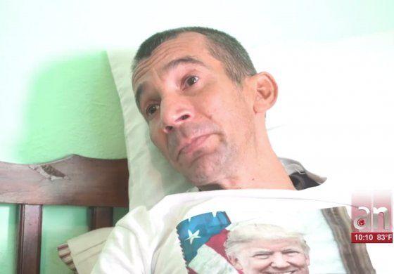 Opositor cubano con cáncer en la frontera pide una visa humanitaria