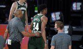 Bucks vencen a Wizards pese a expulsión de Giannis