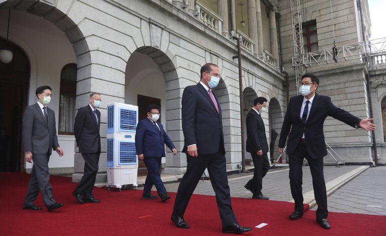 China fustiga a EEUU por visita de funcionario a Taiwán