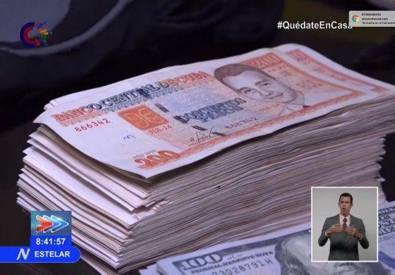 Régimen confisca más de un millón de pesos a supuestos traficantes de divisas