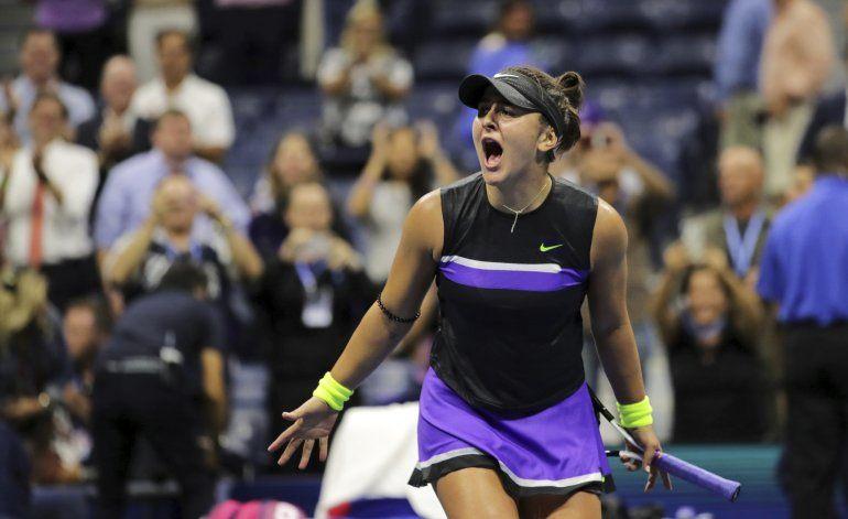 La campeona reinante Bianca Andreescu renuncia al US Open