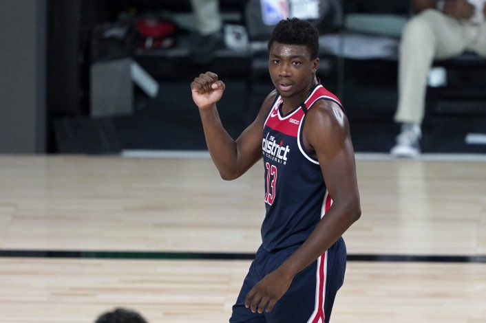 Wizards vencen a Celtics, su única victoria en la burbuja