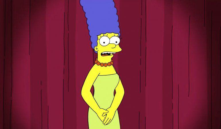 Marge Simpson usa su voz para reprender a asesora de Trump