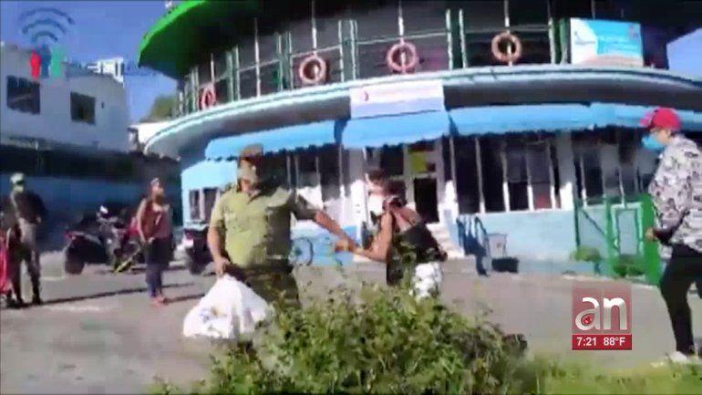 Revelan nuevos detalles sobre violento arresto de matrimonio de opositores en una tienda en La Habana