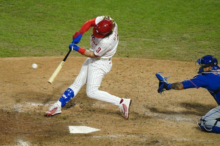Sencillo de Harper da triunfo a los Filis ante Mets