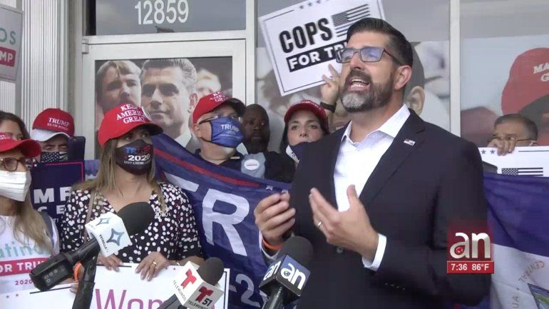 Quedó inaugurada la oficina de Latinos For Trump en el suroeste de Miami