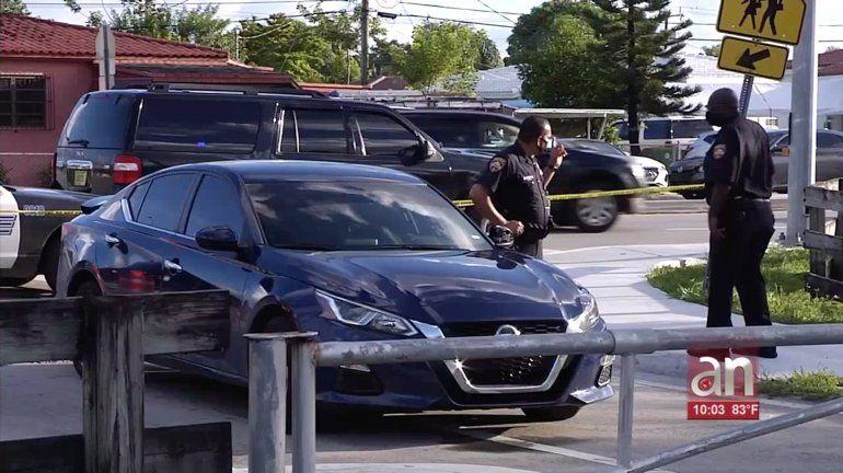 Confrontación entre un UBER y un chofer de un auto en Hialeah  termina en trágica balacera