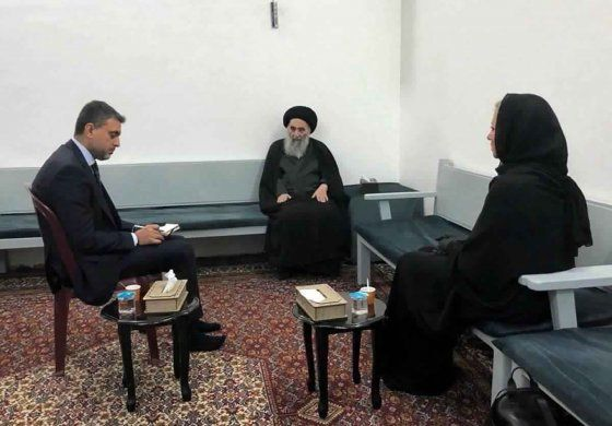 Clérigo iraquí apoya propuesta de elecciones adelantadas